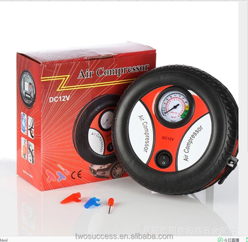 High Quality Mini Air Compressor Pump Car Tyre Tire Inflator Electric