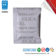 for shoes bags ROHS / DMF free MSDS free sample 2g food grade new style silica gel desiccant