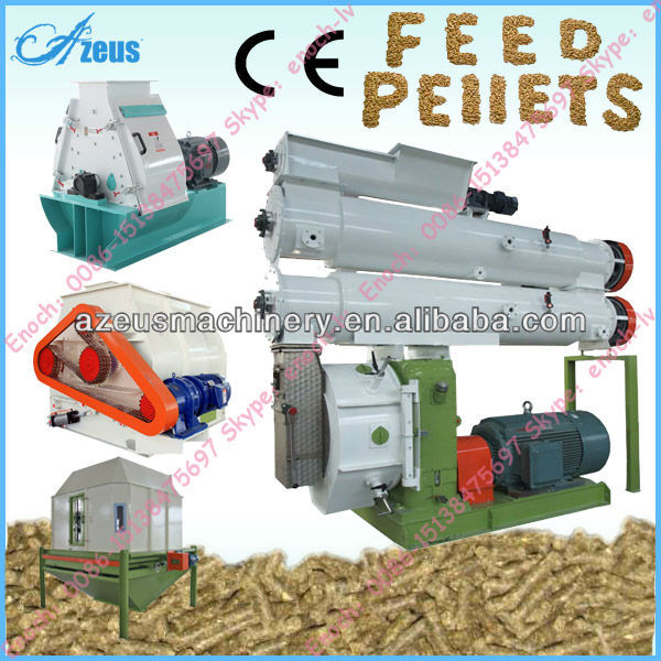 Siemens Motor Cattle/Pig/Cow/Sheep/Duck/Chicken/Fish Food Processing Machine For Sale