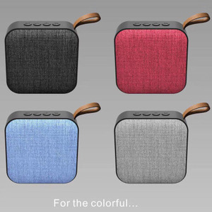 Cloth art wireless speaker outdoor portable plug card low tone gun mobile phone computer mini wireless small audio