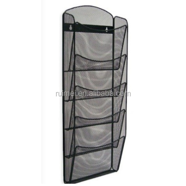 Wire Mesh Wall Mounted A4 Brochure Holder Buy Wall