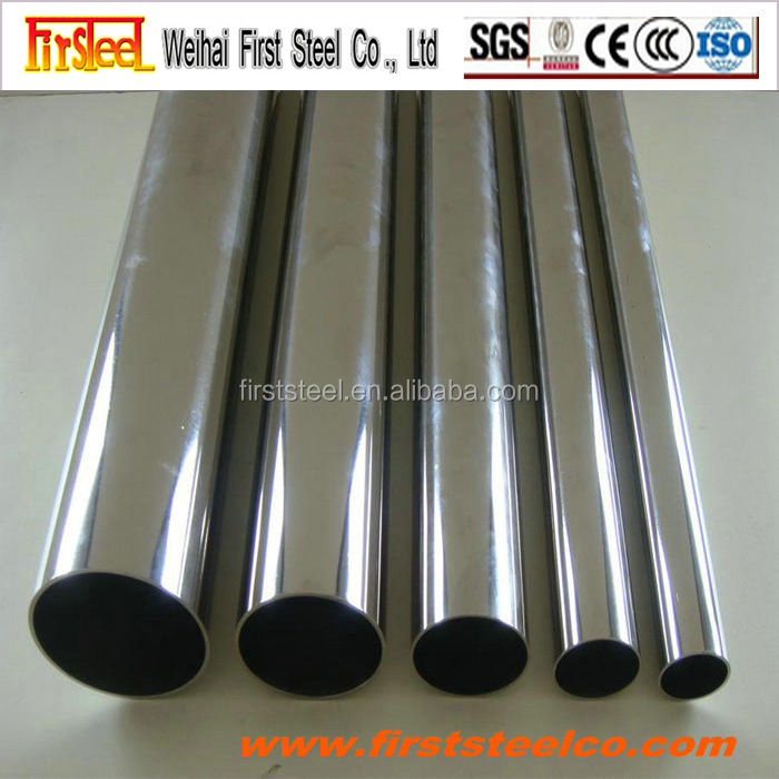 competitive price 201 stainless steel welded tubes