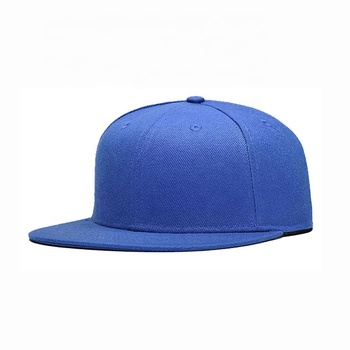 highlight color flat visor 6 panel Wholesale  Plain  Custom designed Embroidery outdoor Basketball Snapback cap
