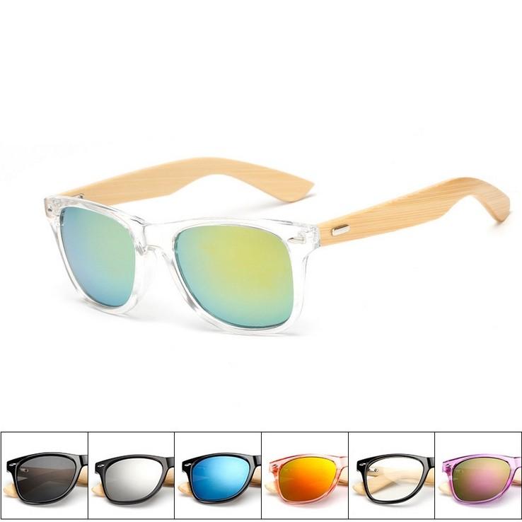 Fashion Sunglasses Men/Women UV400 Vintage Bamboo Sunglass Wooden Sun Glasses
