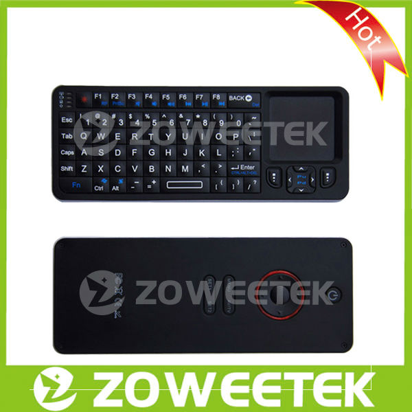 Universal 2.4g Mini Wireless Key board for Smart TV