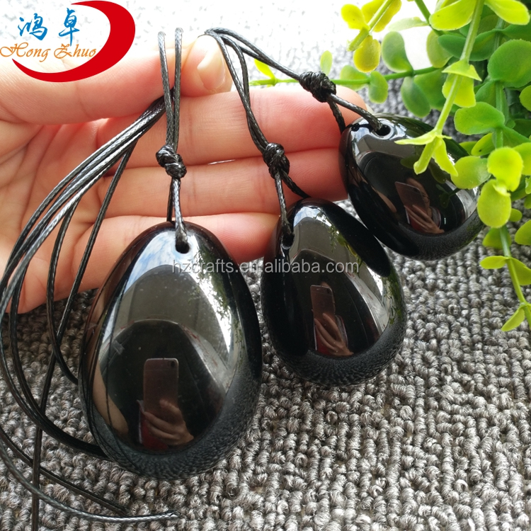 3 Obsidian Eggs Pelvic Muscle Kegel Exercise Vaginal Tightening Ben Wa (jade)