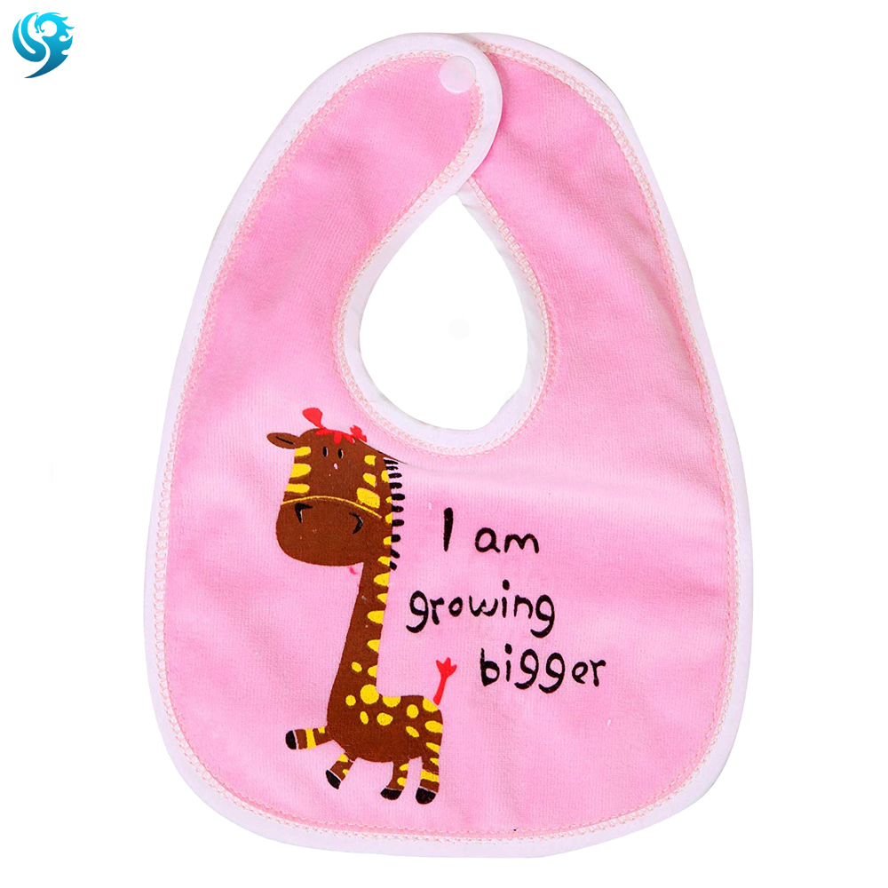 made in china 26x20cm personalised baby bib manufacturer