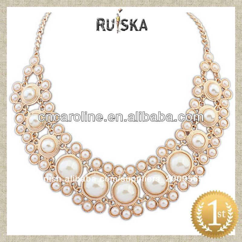 aec0a6e53dbd Sintético collar de perlas