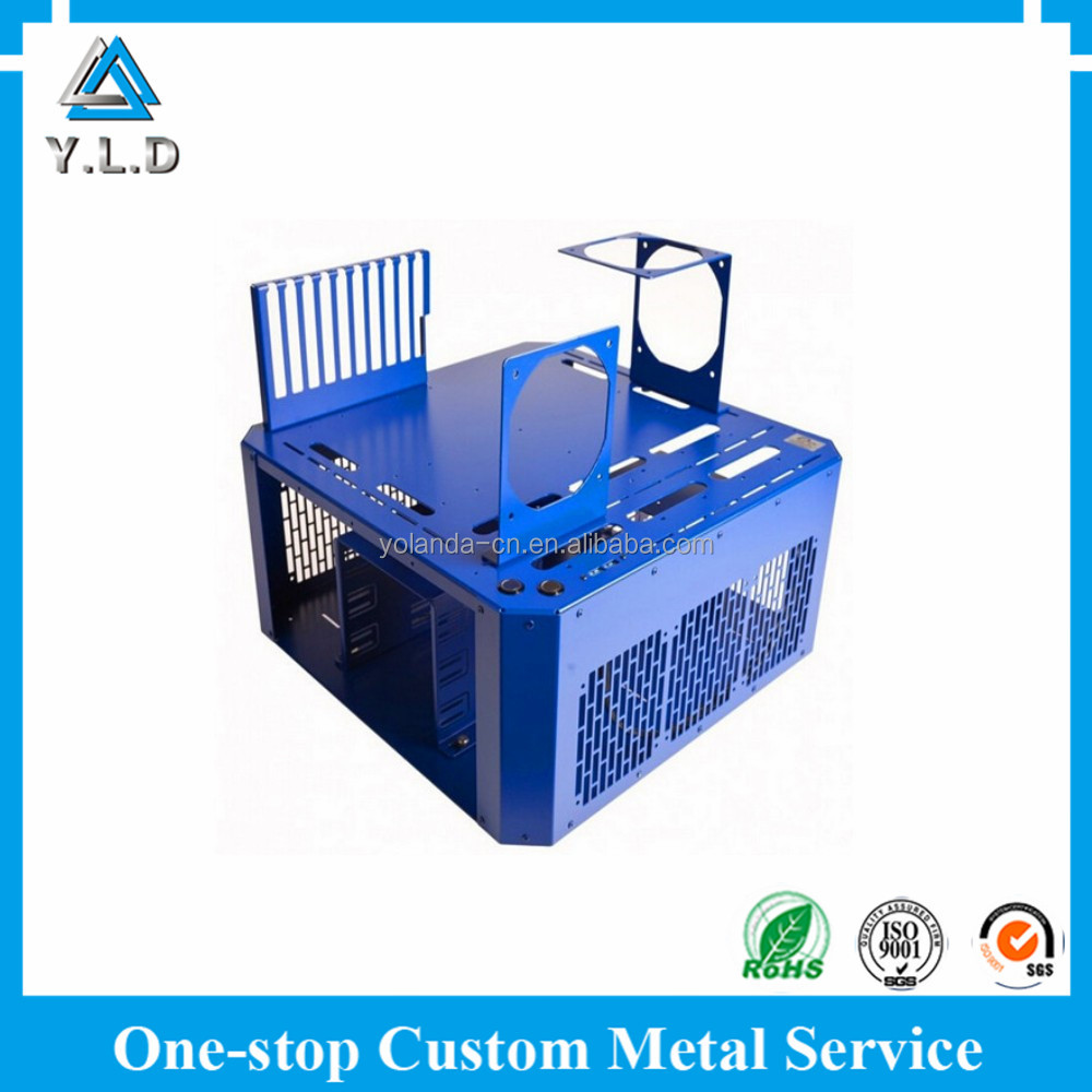 Custom Sheet Metal Fabrication Sheet Metal Rack Mount Chassis
