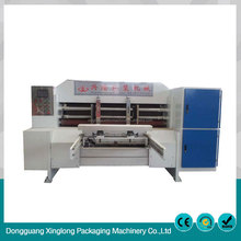 High efficiency corrugated cardboard box slotting die-cutting machine
