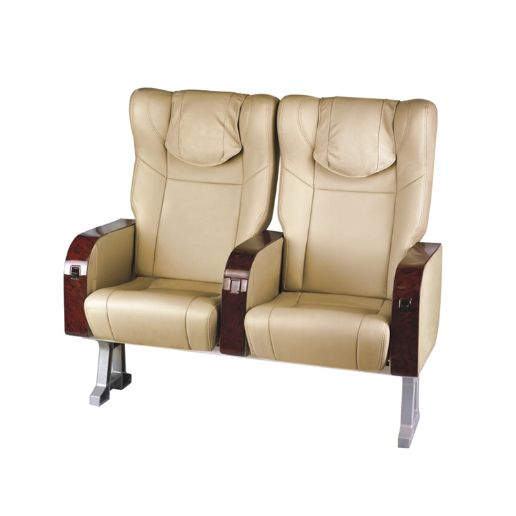 Vip leer opvouwbare luxe auto bus pass fold verstelbare stoel