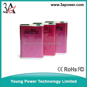 moli ICP103450CA 3.7V square aluminum 103450 2000mAh lithium battery