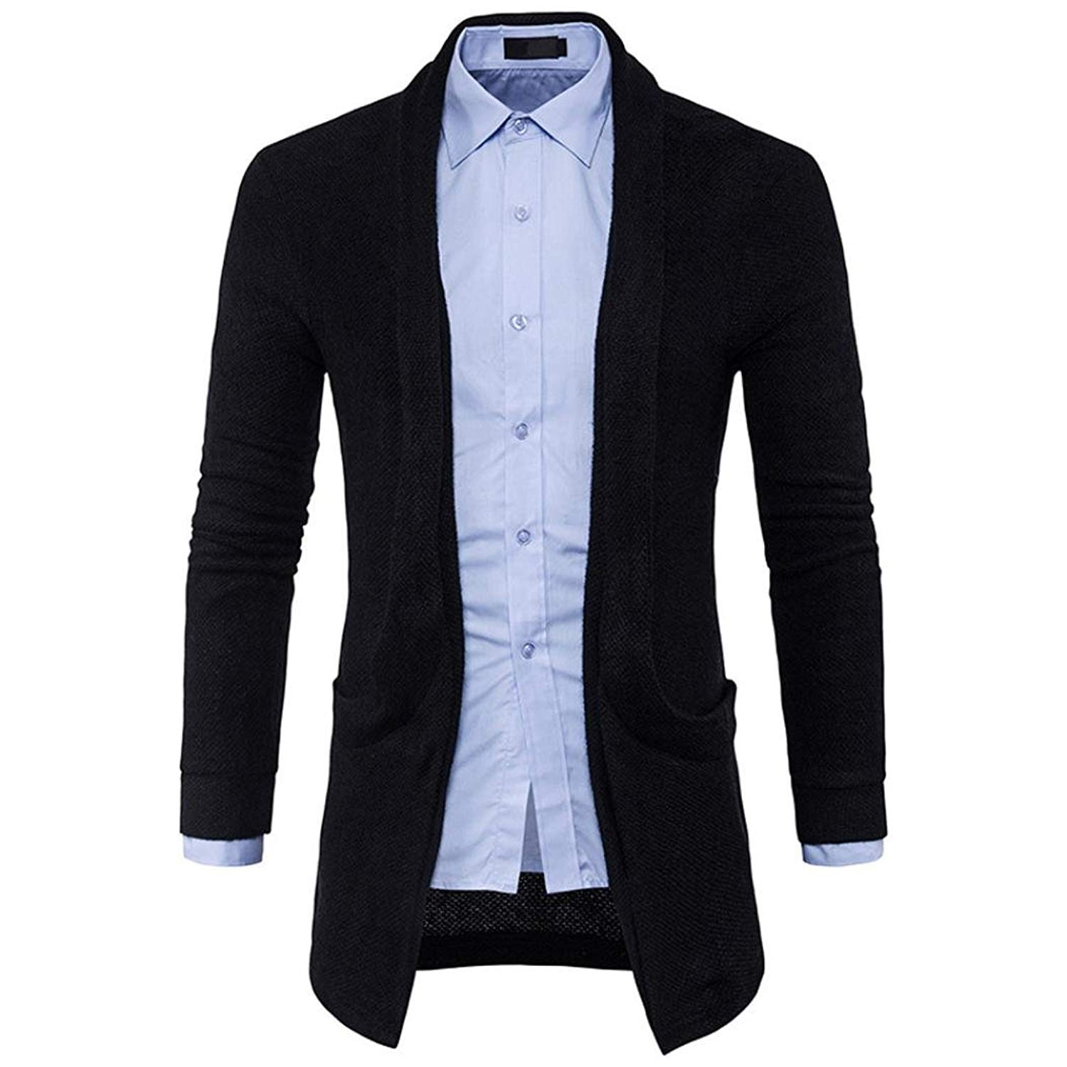 833b9f57771f2 Get Quotations · Jushye Hot Sale!!! Men's Cardigan Coat, Mens Slim Fit  Hooded Knit Sweater