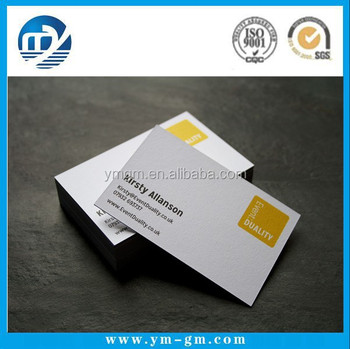 Customized fset Printing Business Card Order From