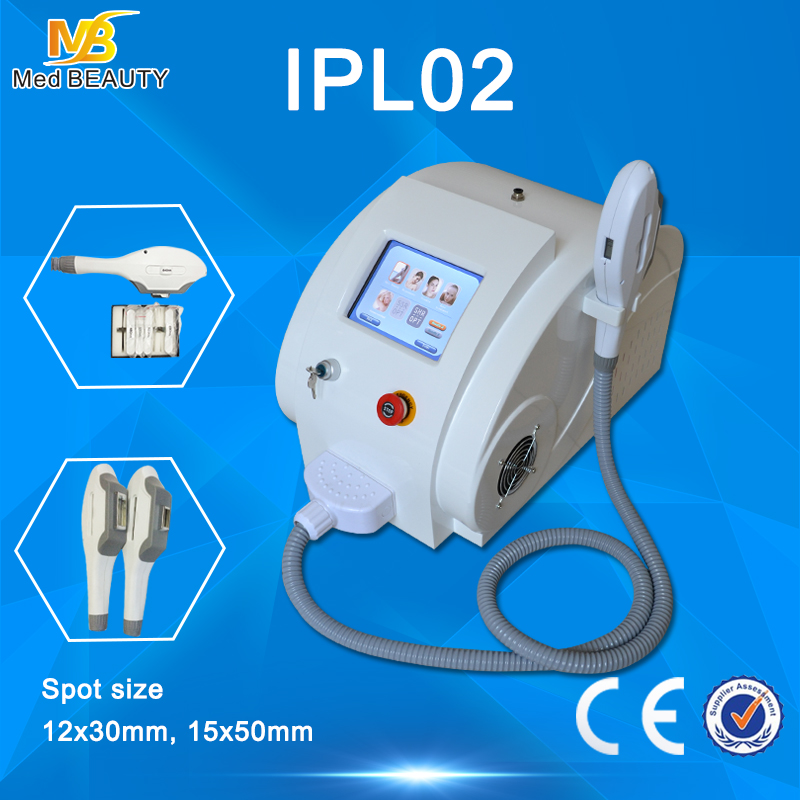 permanent hair removal e-light+ipl machine for salon use