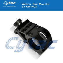 45 Degree 25.4mm Ring Side Tactical LED Scope Mount