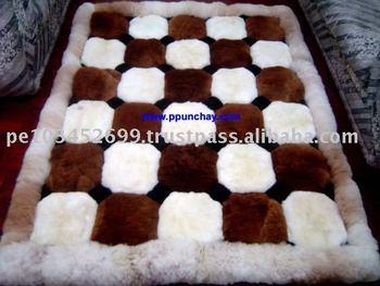 Alpaca Rug Bedspread Peru