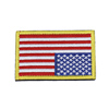Colorful flag style embroidered patch college embroidered patches