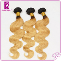 Black And Blonde Weave Body Wave Hairstyles Bundles Cheap Malaysian Hair Wholesale