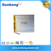 3.7v 3000mAh Lipo Battery Rechargeable Lipo Battery used for PDA