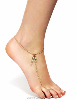 ankle sandal chain barefoot gold beach bracelet anklet foot jewelry simple women leg itm