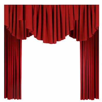 Electric Blackout Theatre Drapes Stage Curtain System