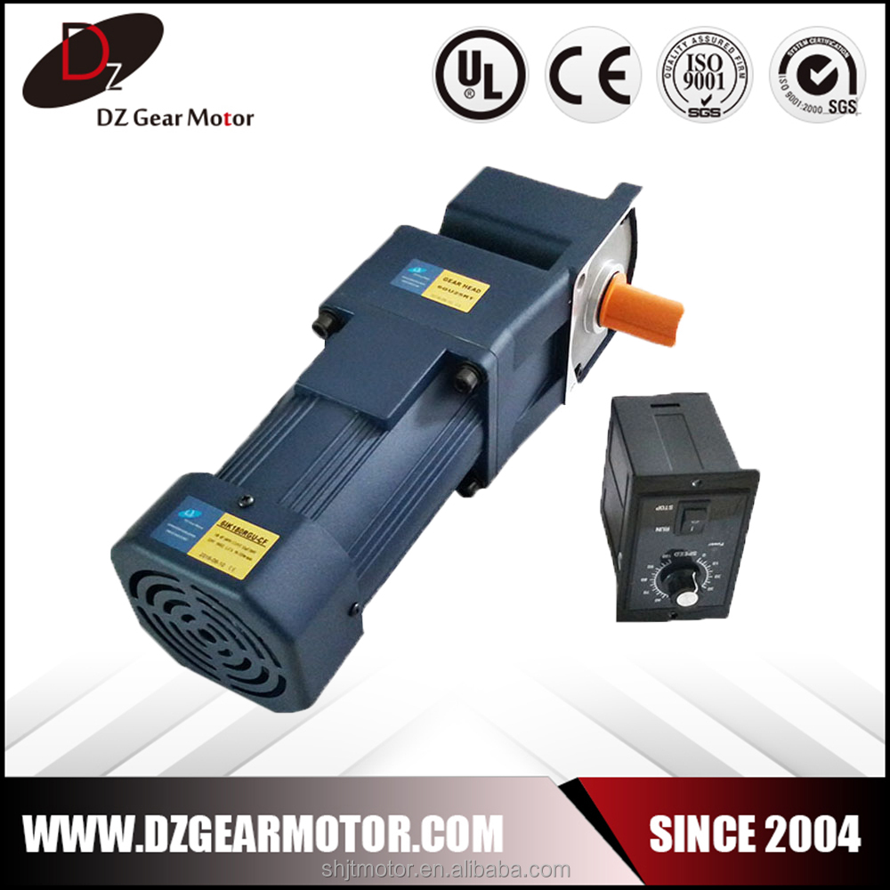 single phase ac electric motor with right angle head