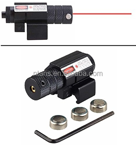 Spike Tactical MINI Red Dot Laser Sight for Pistol/Handgun/Rifle Scopes with Picatinny Rail Mount (Perfect for Hunting)