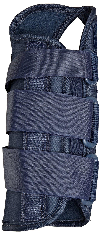 "Scott Specialty 607-500 Latex Free Premier Left Wrist Brace, Large, 8"" Length"