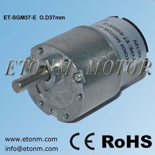 ET 24v dc motor mini small dc electric gear motors motor gear reduction for air purifier