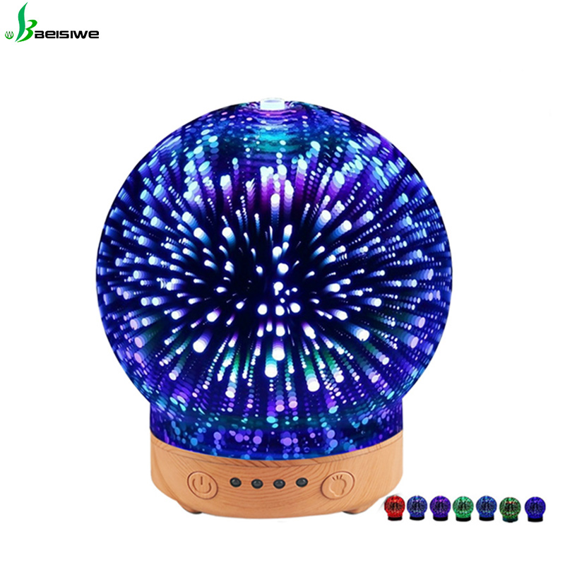 Top rated easy home ultrasonic cool mist travel fantasy LED lights anion humidifier manual