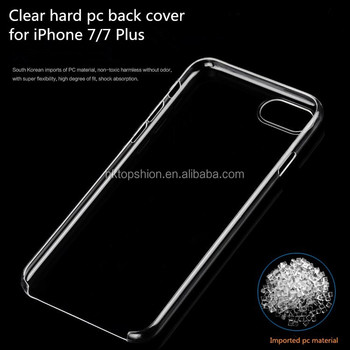 clear hard case iphone 7