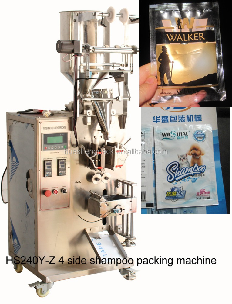 Sachet alcoholic beverages filling <strong>machine</strong>