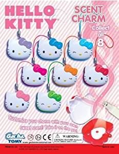 Hello Kitty Scent Charm Set of 8 Vending Toys - Capsule Toys