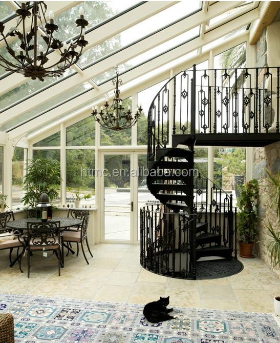 Terraza acristalada paneles para la venta vidrio templado - Invernaderos para terrazas ...