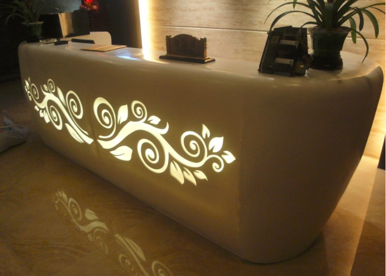 eco friendly hospital reception desk hotel reception counter design - Hotel Reception Desk Design