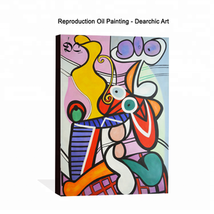 Hand-painted modern abstract reproduction canvas oil painting from world famous artist Picasso