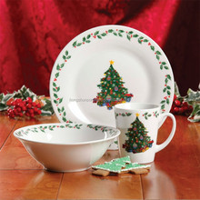 <span class=keywords><strong>Santa</strong></span> claus keramik dinner set