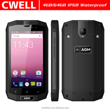 2017 Best Waterproof Rugged Phone AGM A1Q 5 inch Android 4GB/64GB IP68 4G LTE Rugged Phone