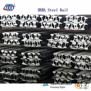 Light Steel Rail (6kg, 9kg, 12kg, 15kg, 22kg, 30kg)used for mine, railway light steel rail bar