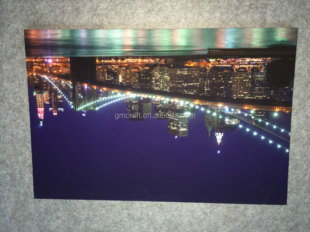 led canvas painting,candle canvas art,lighted canvas picture