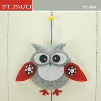 new year cheap hanging indoor outdoor christmas felt decorations