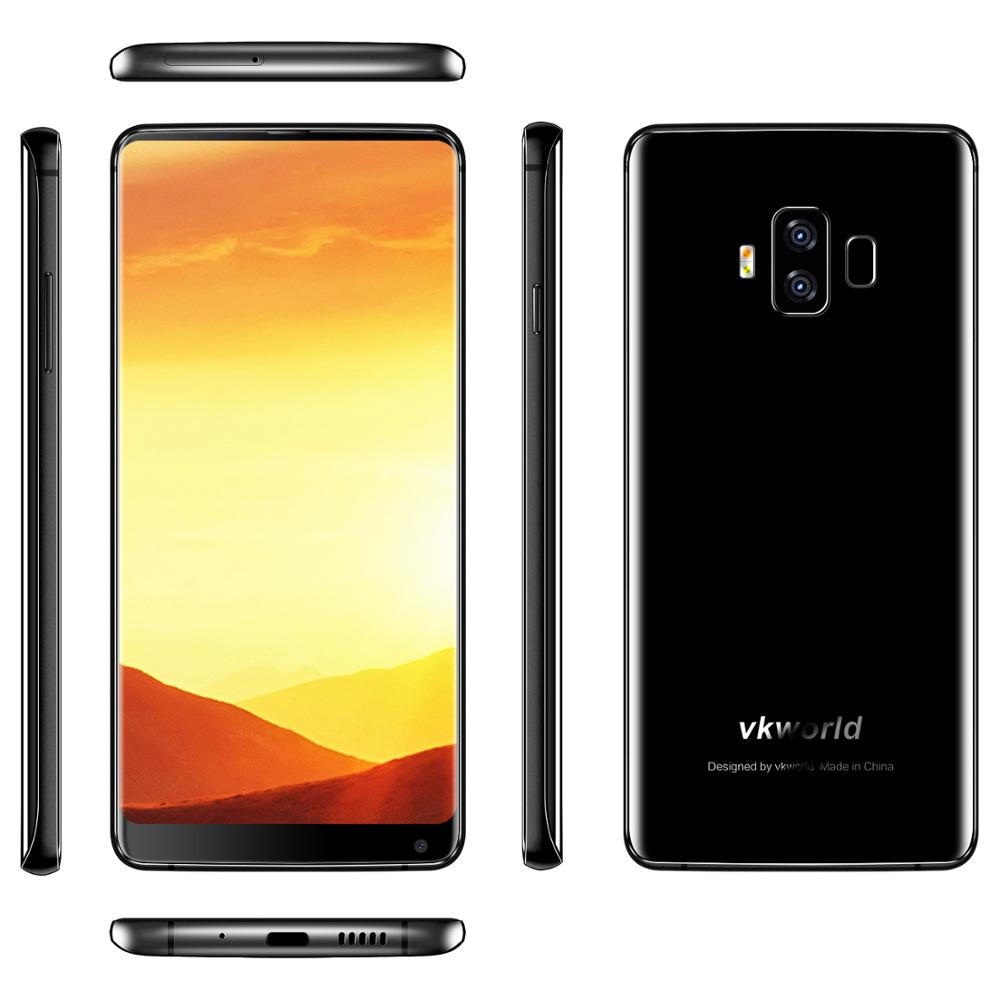 Free Shipping vkworld S8 5.99'' FHD+ 18:9 Android Phone 4GB+64GB MTK6750T 13+16MP 5500mAh 4G Smartphone фото