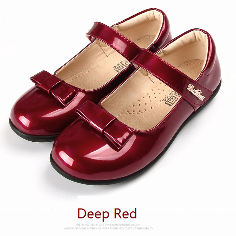 hot designs buckle strap baby girls soft classic casual shoe kids leather shoes for children stage dance performance