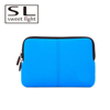 China 2017 Soft Neoprene material blue laptop notebook sleeve