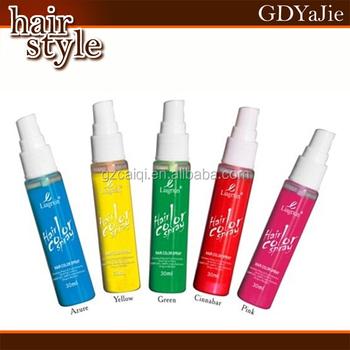 Hot Temporary Washable Hair Color Spray