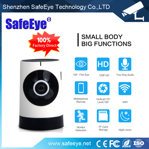 New 4G 3G Home Smart IP Camera WIFI 180 degree fisheye VR View mode camera CCTV