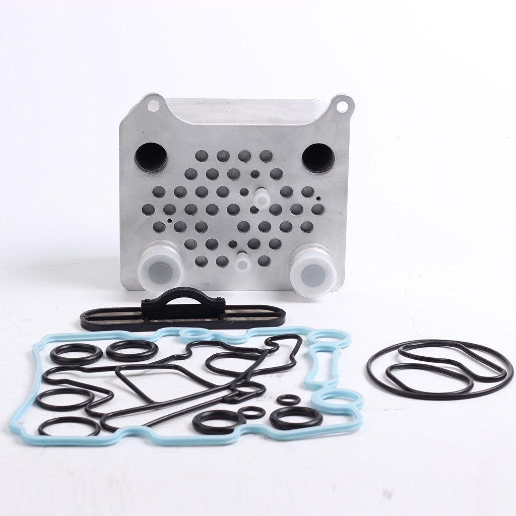 Oil Cooler Kit Egr Delete Upgraded High Coolant Flow Ford F
