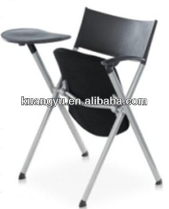 Training chair with writing tablet,training room chair,folding chair for training room