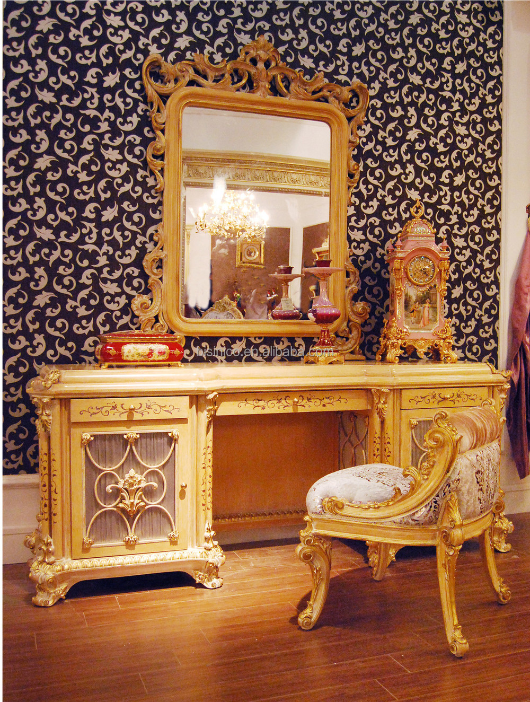 De lujo de estilo rococ franc s cama con dosel de for Muebles modernos estilo europeo